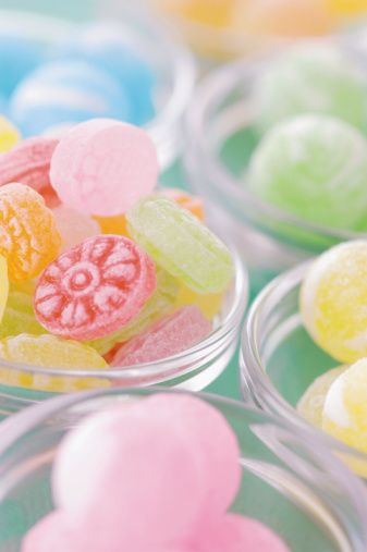 Candies In Pastel ?