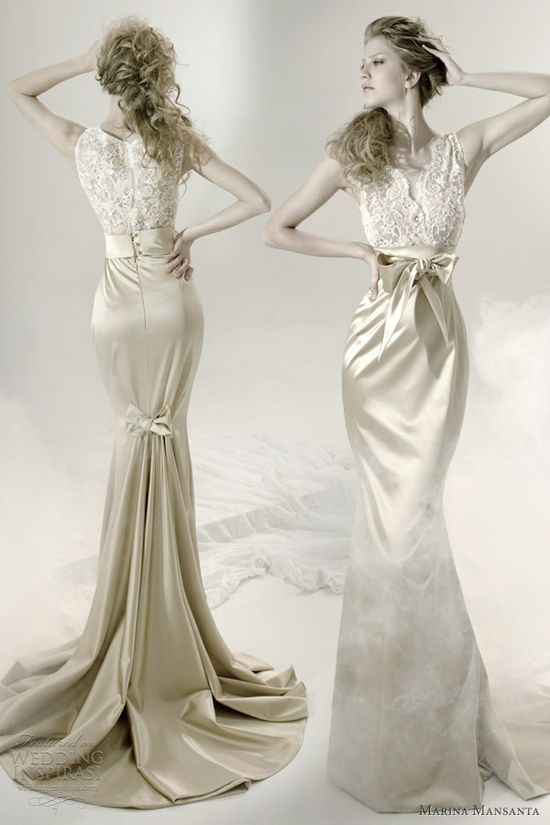 Marina Mansanta Wedding Dresses — Ninfe Bridal Collection