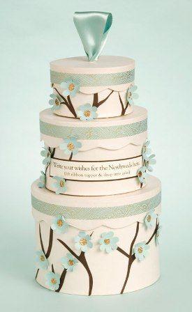 How-to: wedding cake wish box - bjl