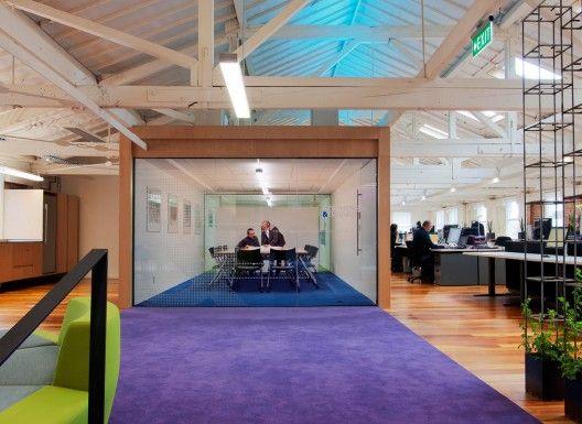 Stephenson & Turner Wellington Design Studio – Fit Out / Stephenson
