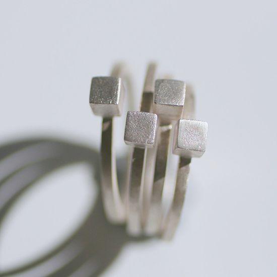 Handmade & Modern: Jewelry From Idamari #handmade #haute #fashion #summer #jewelry #silver