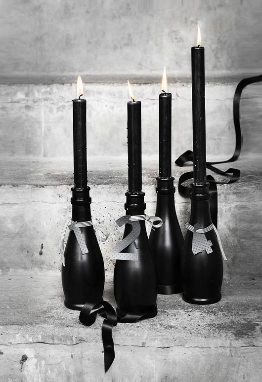 Christmas Candles DIY