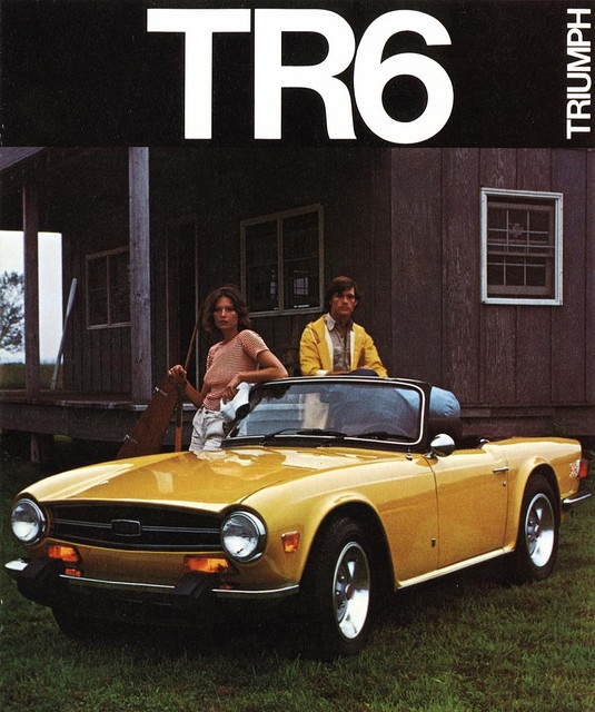 TR6,  Want one