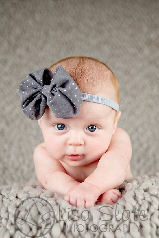 Oh my word...when the time comes in the future that I have a baby, it will have a bow on everyday!