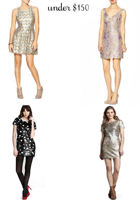Sequin Party Dresses Under $150
