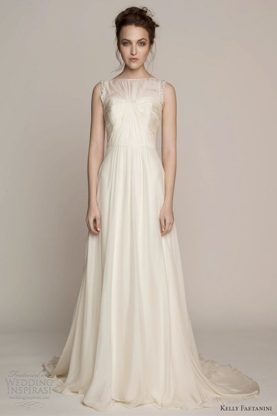 kelly faetanini wedding dresses spring 2014 bridal caitlyn sleeveless gown