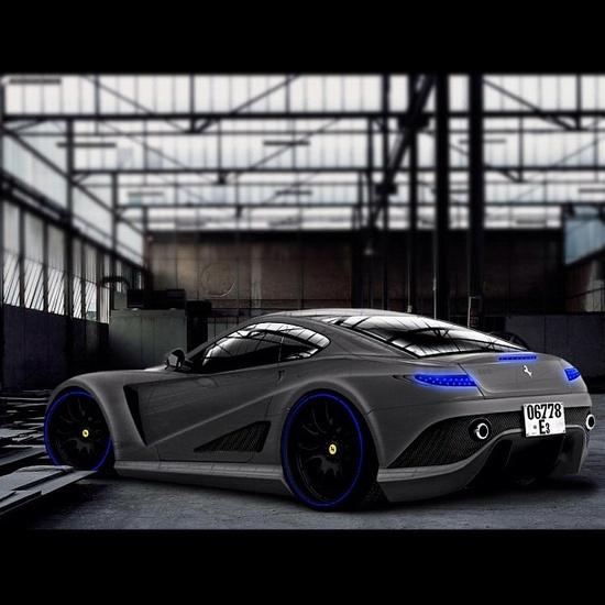 Cool Inspired Tron Ferrari
