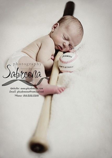 Baby Baseball Love
