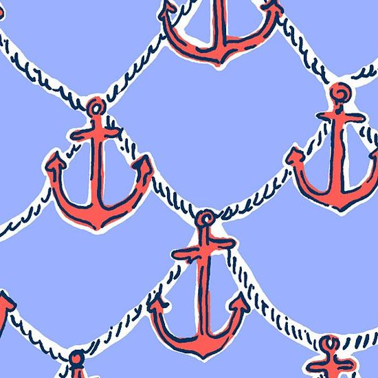 Lilly Pulitzer Summer '13- Anchors Away Print