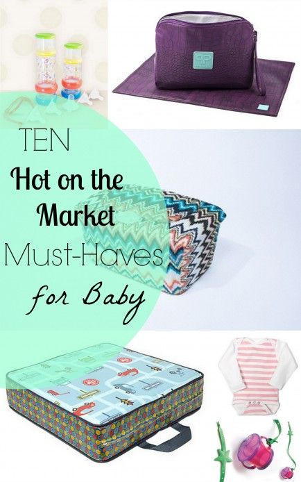 10 Trendy Baby Products That Make Mom's Life Easier