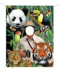 Pictures backdrop - Wild Animals Safari Party #YoYoBirthday