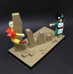 avatar lego sculpture