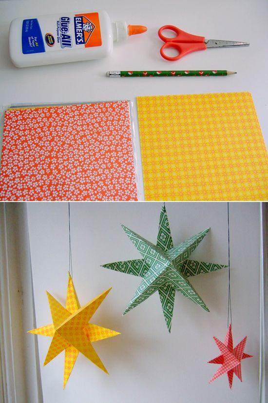 DIY: paper stars