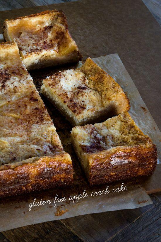 Gluten Free Apple Crack Cake