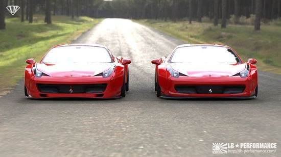 LB?WORKS FERRARI #luxury sports cars #ferrari vs lamborghini #sport cars