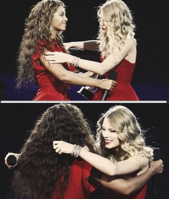 """""""I remember being 17 years old, up for my first MTV award with Destiny's Child, and it was one of the most exciting moments of my life, so I would like for Taylor to come out and have her moment."""""""