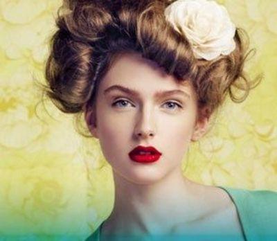 gibson girl hairstyle