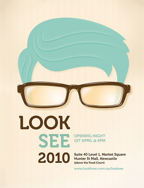 Look See Poster