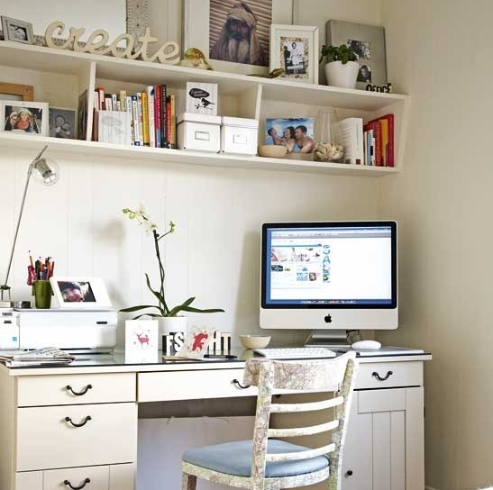 Love this creative workspace posted by Miss Design