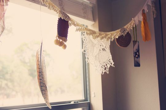tutorial: how to make boho bunting