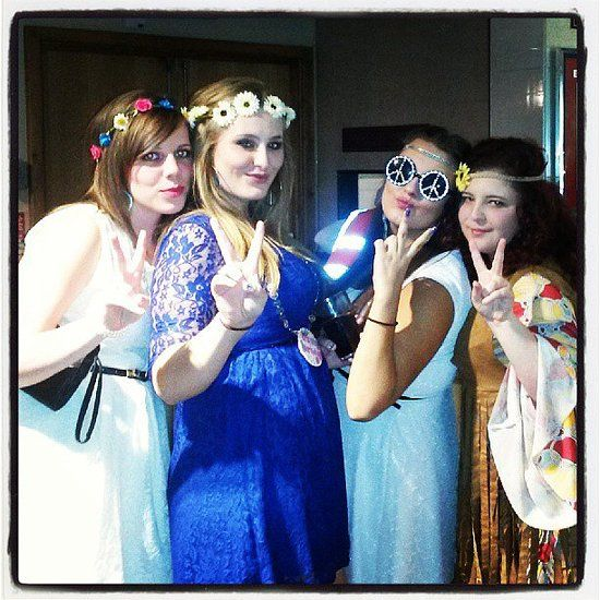 Hippies group costume #halloween