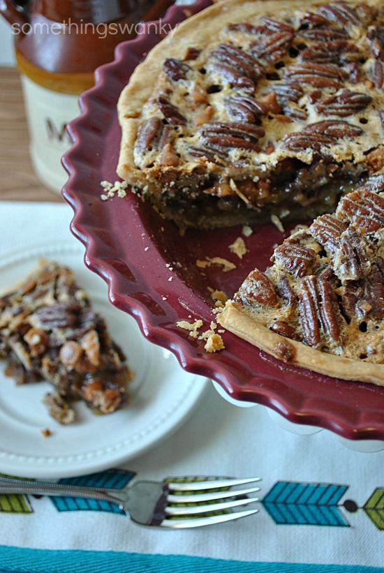 Butterscotch Pecan Pie // It's out of the ordinary enough to be special, but classic enough to still be your favorite Pecan Pie! #pecan #pie #holiday