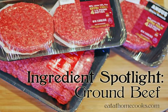 Long list of recipes to make with ground beef
