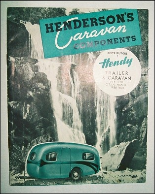 1950's catalogue for Henderson's of Melbourne, Australia.