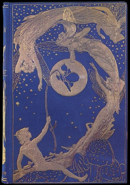 Henry Justice Ford ~ Book Cover ~ The Violet Fairy Book ~ 1901