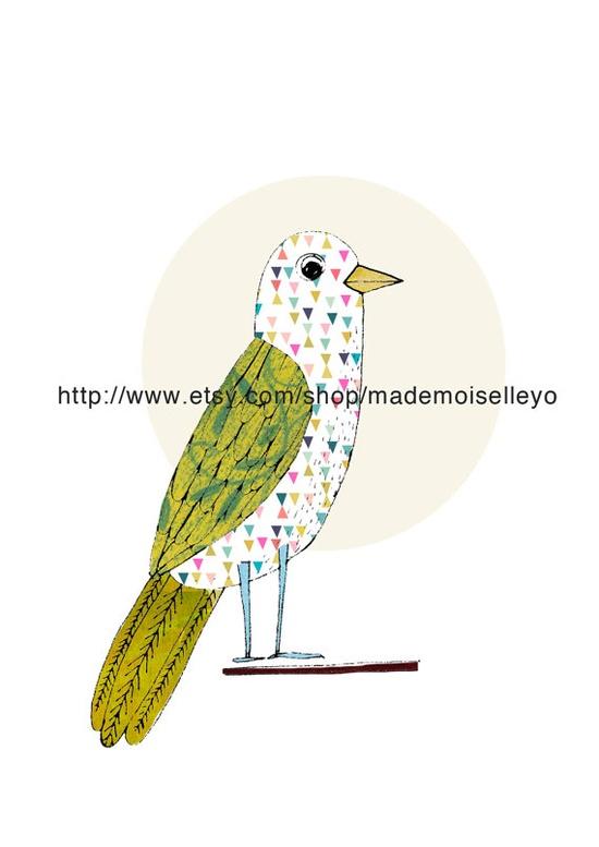 poster lovely bird