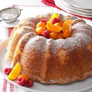 Sour Cream Pound Cake Recipe from Taste of Home