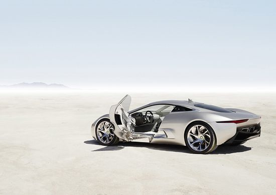 ast year the British automaker Jaguar unveiled the concept car C-X75. The British luxury car manufacturer announced that it would indeed produce the C-X75 . There will only be 250 limited edition vehicles produced, with the majority of them packing a turbo charged hybrid 4 cylinder motor    Source: www.beautifullife...