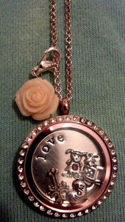 My Origami Owl locket!