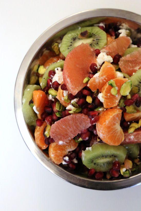 End-of-winter fruit #salad