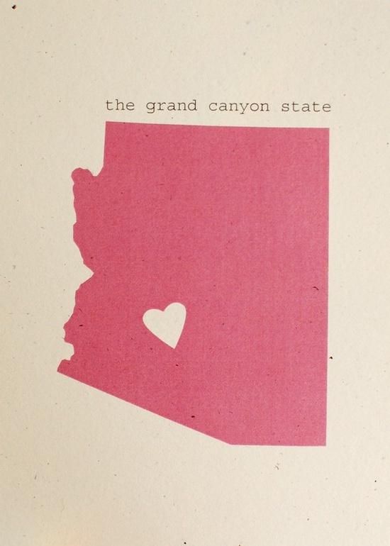 Custom state. Love. $10