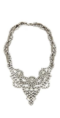 outrageously gorgeous statement bridal necklace
