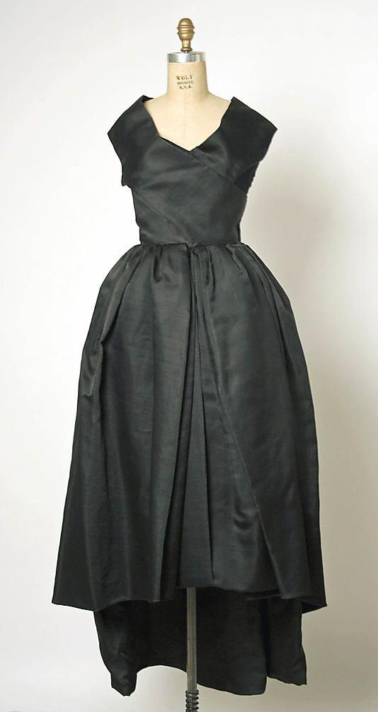 1957 House of Balenciaga Evening Dress