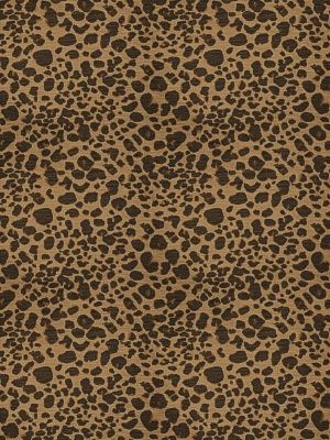 S. Harris Gatopardo-Macchiato $260.99 per yard #interiors #decor #brownfabric #isaacmizrahi