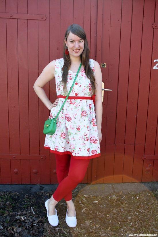 #handmade #rose #dress made by #normalean