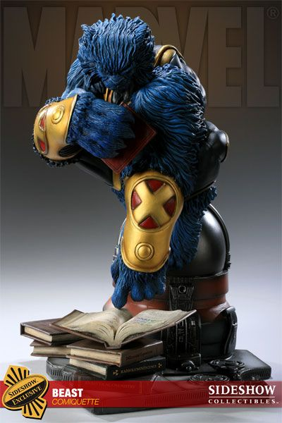 Sideshow Marvel Comiquette - BEAST of xmen forbiddenplanet.c...  (imghttp://www.sideshowtoy.com/?page_id=4489=200123=preview_page#!prettyPhoto/1/)