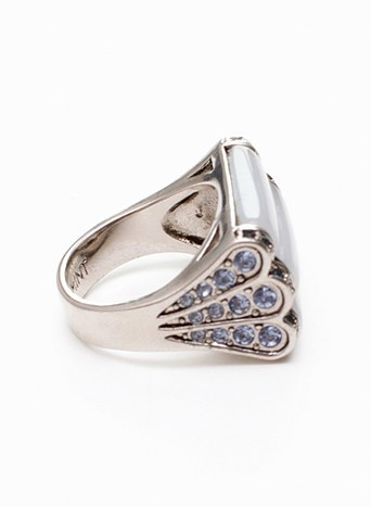 Deco inspired ring