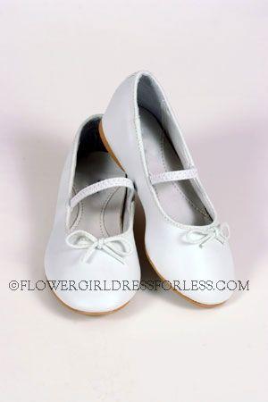 Fancy Ballet Shoe (for older girls) WHITE