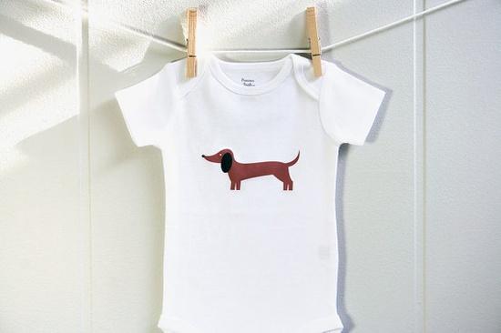 Weiner Dog onesie!!