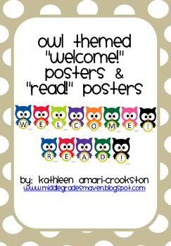 Owl theme!