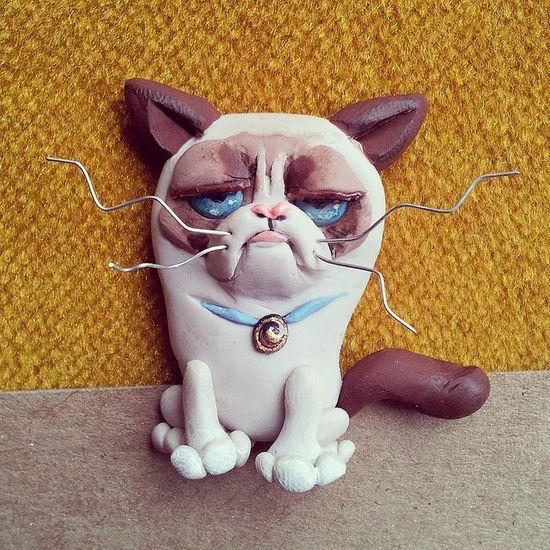 Grumpy Cat  #GrumpyCat #FanArt