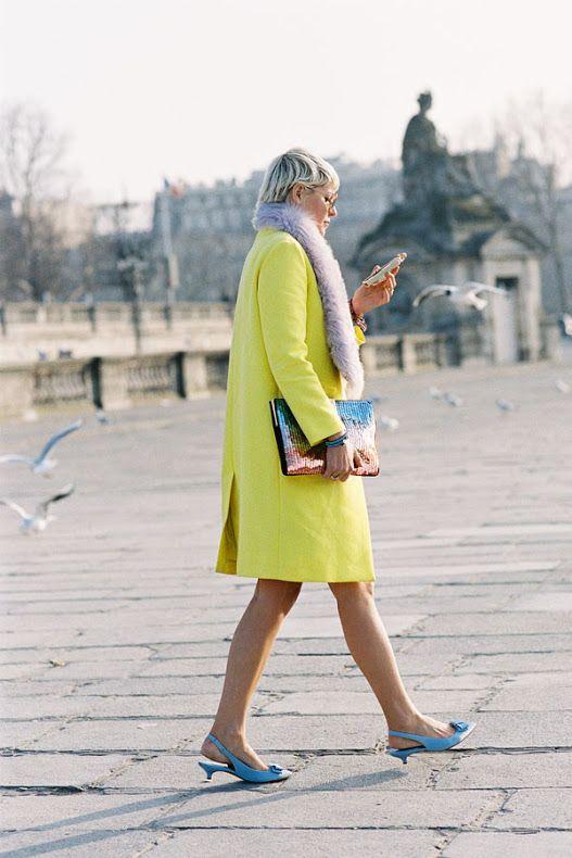 Paris Fashion Week AW 2013....Elisa