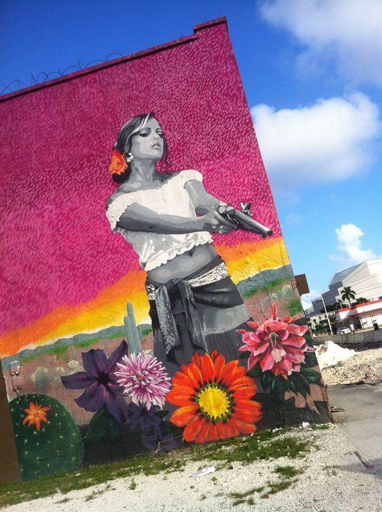Miami street art #graffiti
