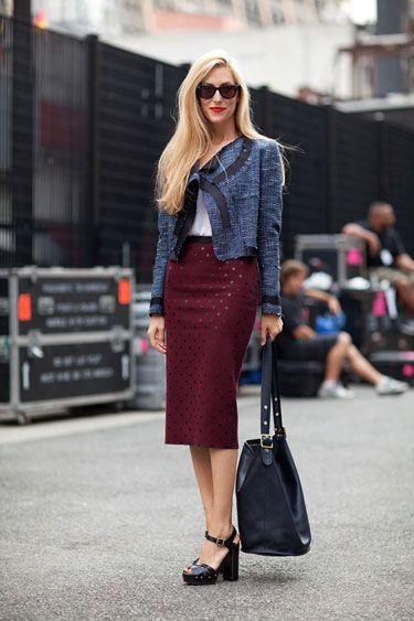 The 50 Best Street Style Moments of 2011 - Joanna Hillman