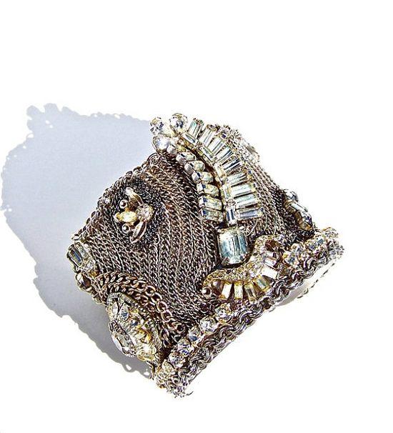 vintage jewelry cuff bracelet