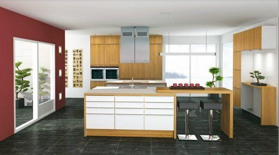 Norwegian furniture maximizes #kitchen decorating #living room design